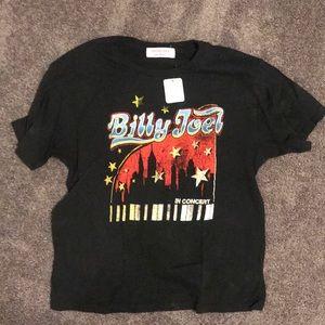 Free people Billy Joel shirt